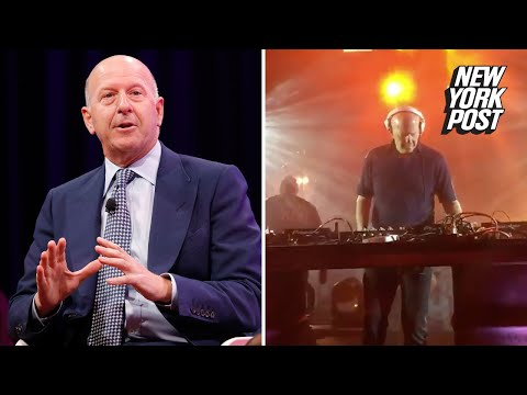 The CEO of Goldman Sachs is a secret DJ