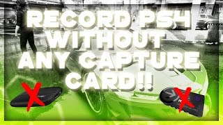 How to recored PS4 without Elgato HD60! Make Youtube videos easy! Without any Capture Cards