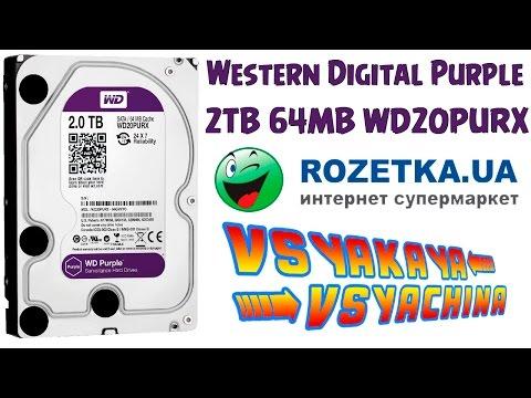Жесткий диск Western Digital Purple 2TB 64MB 5400rpm WD20PURX 3.5 SATA III