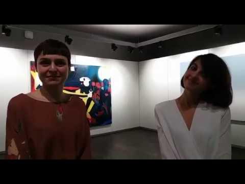 Ibrida: le curatrici Alberta Romano e Clarissa Tempestini, e l'artista Luca Loreti
