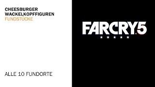 Far Cry 5 - Alle Cheesburger-Wackelkopffiguren Fundorte