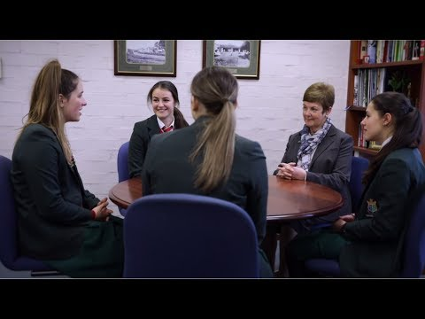 Caring for students at all girls school Mercedes College in Perth