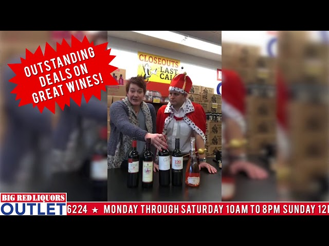 Big Red Liquors Outlet Wines