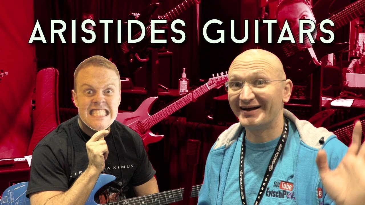 Ultra Silly Aristides Guitars Video With Steve From Boston