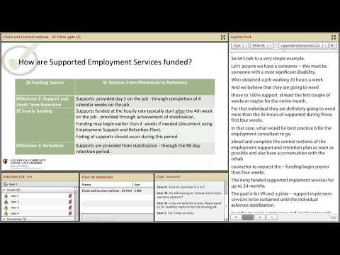 Changes to Indiana Supported Employment