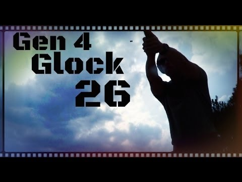 Gen 4 Glock 26 9mm Baby Glock Review (HD)