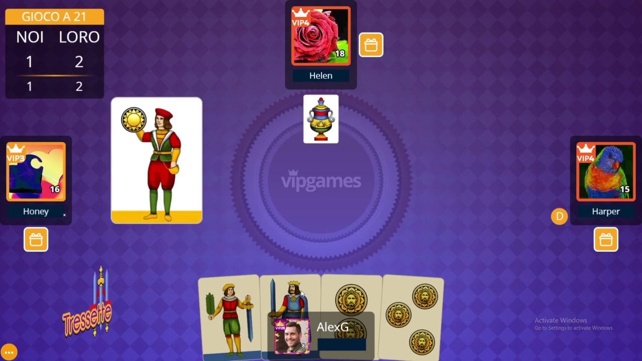 Tressette - Come si gioca - Gioco di Carte | VIP Games