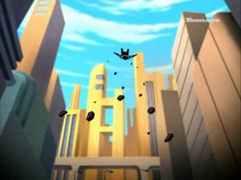 Best Justice League Unlimited fighting sequence ever!!!!!