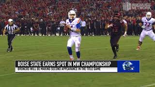 Boise State to play Fresno State in the 2017 Mountain West Football Championship Game