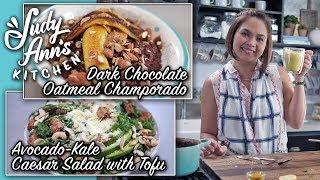 [Judy Ann's Kitchen 14] Ep 4 : Dark Chocolate Oatmeal Champorado, Avocado-Kale Caesar Salad