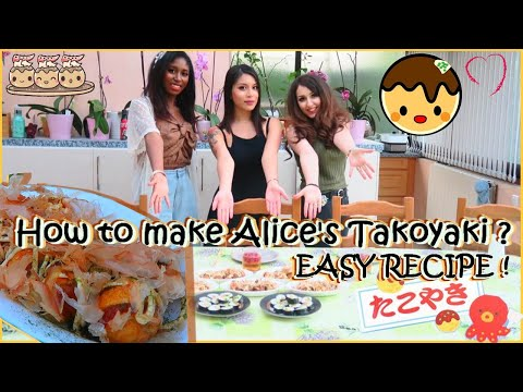 「cooking」alice's-takoyaki-recipe-easy-(recette-des-takoyaki-d'alice-facile)
