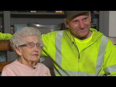 Hero Sanitation Worker Rescues 93-Year-Old Woman From California Fires