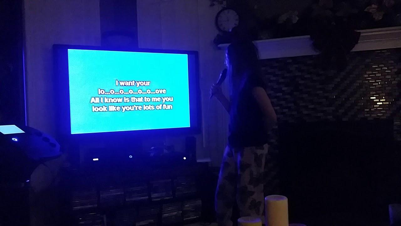 more chloe karaoke 2017 new years youtube. Black Bedroom Furniture Sets. Home Design Ideas