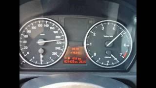 2010 BMW 318i E90 LCI Top Speed
