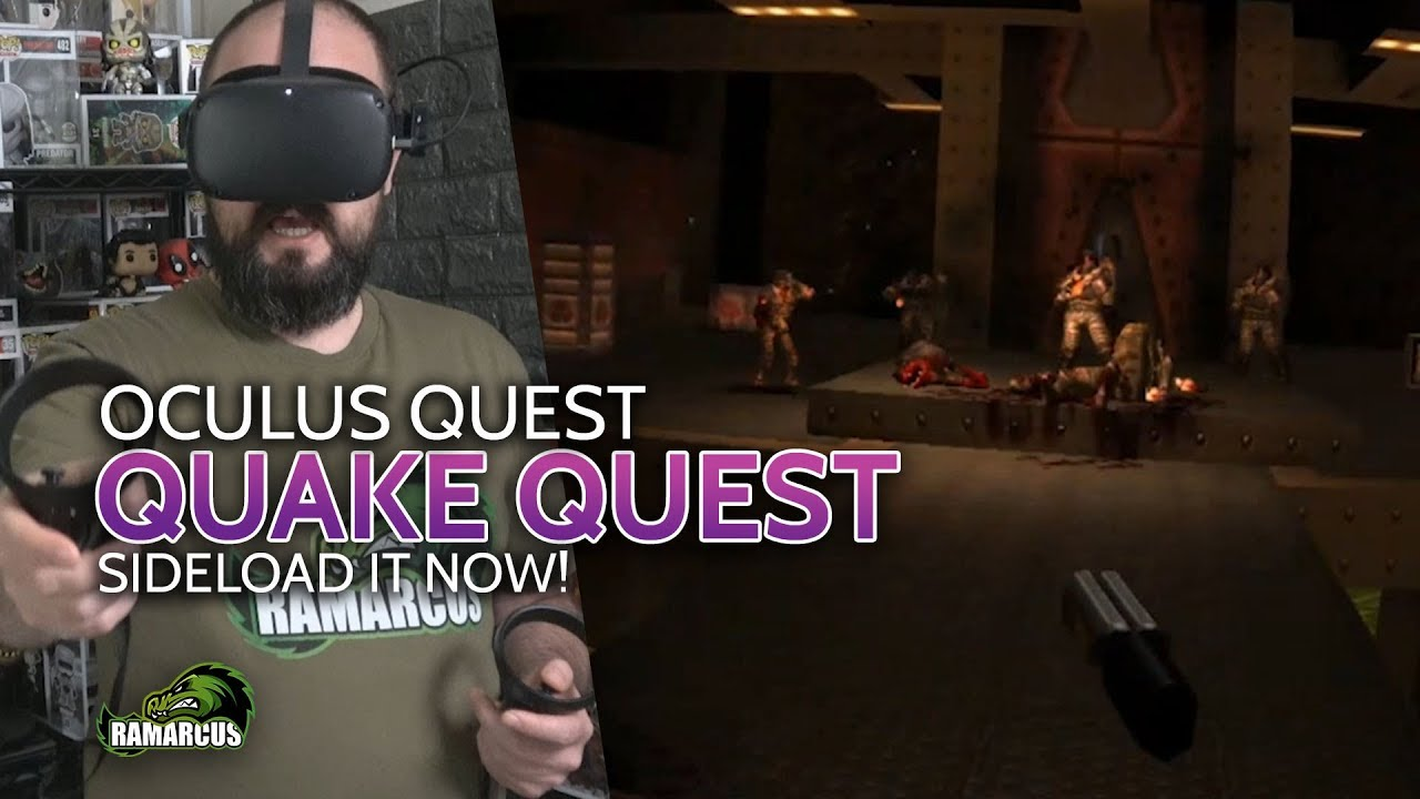 Oculus Quest // QUAKE VR / Play a classic in 6dof VR | VR Real Life