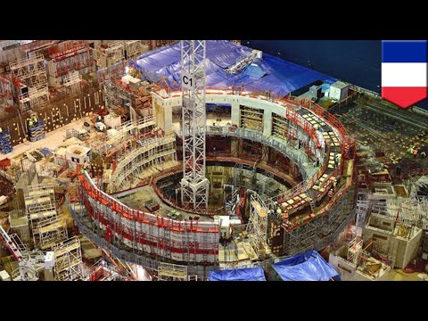 Nuclear fusion: ITER nuclear fusion project in France now 50% complete - TomoNews