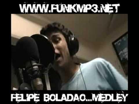 FELIPE BOLADAO-MEDLEY NO DJ NINO