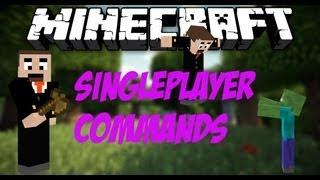 Minecraft Single Player Commands 1.4.7 German [Vorstellung+Installation]