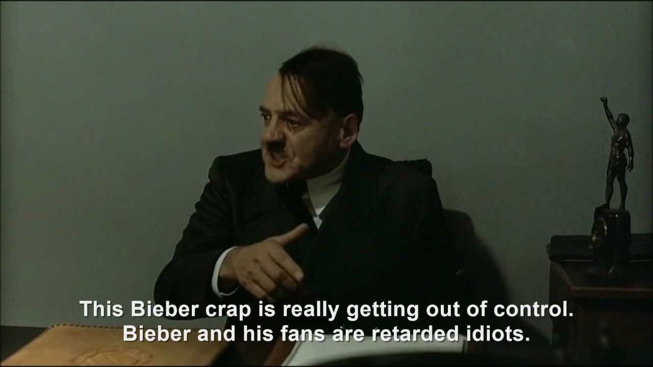 Hitler is informed about CuttingForBieber
