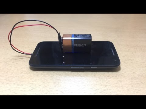 Amazing trick Make your spare phone a power bank
