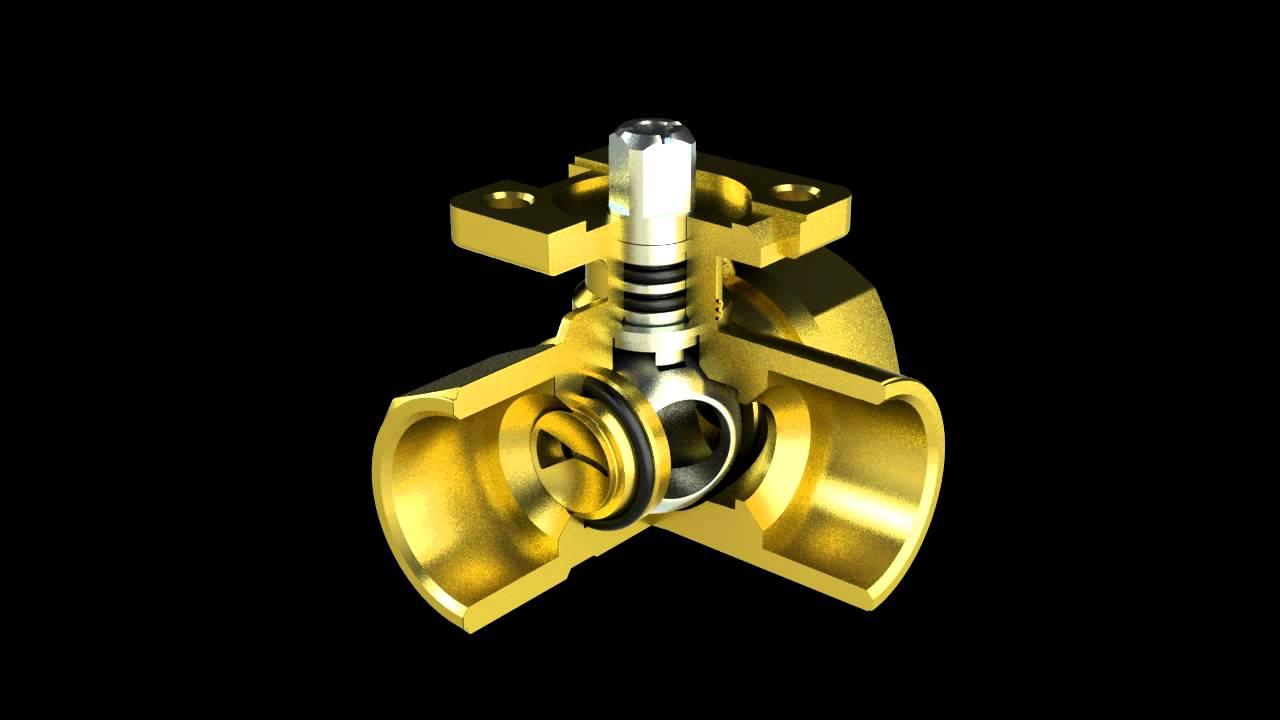 hight resolution of three way valve