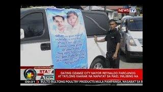SONA: Dating Ozamiz City Mayor Reynaldo Parojinog at tatlong kaanak na napatay sa raid, inilibing na