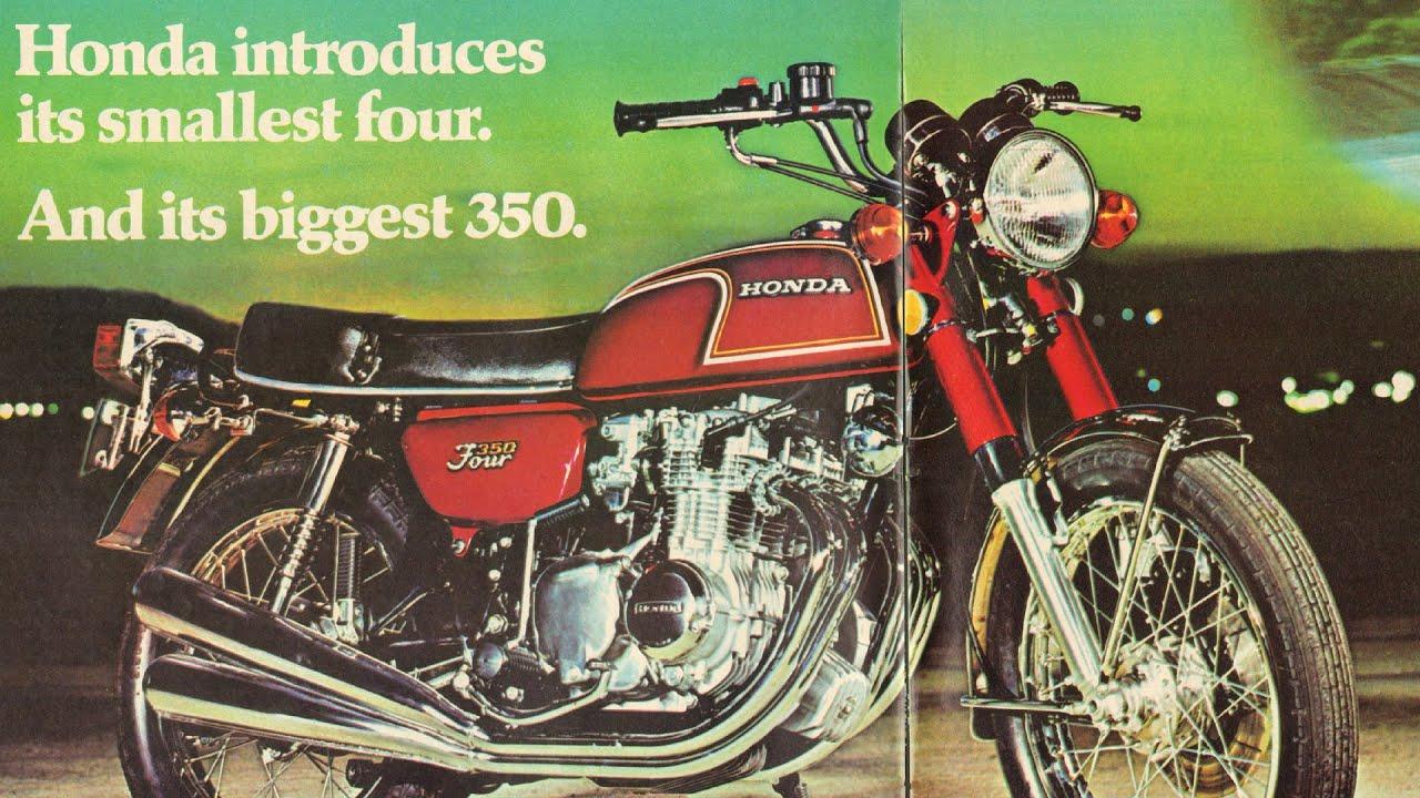 1972 honda 350 four honda 39 s smallest four and biggest. Black Bedroom Furniture Sets. Home Design Ideas