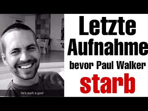 Download Letzte Aufnahme von Paul Walker bevor er starb.. (Beweisvideo)