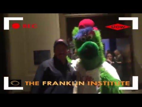 Phillie Phanatic with Jeffrey Price