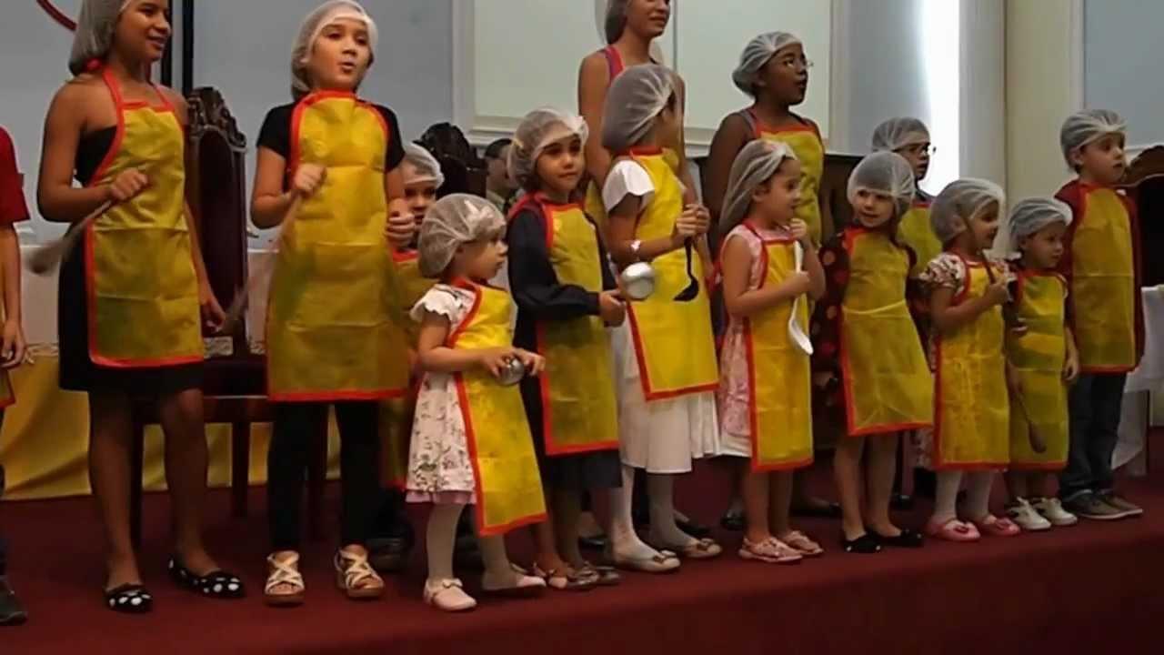 Culto Dia Das Mães- Homenagem Das Crianças