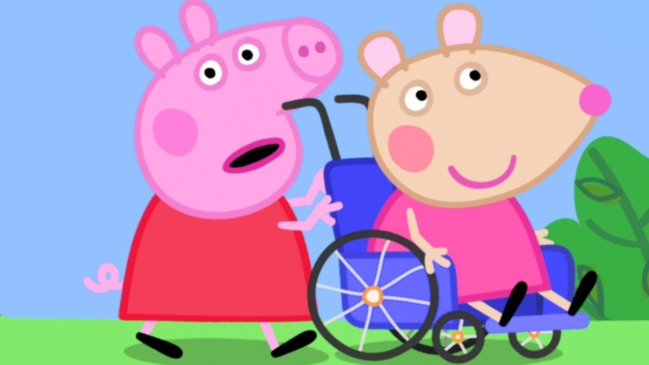 Peppa Pig English Episodes Meet Mandy Mouse Now 12 Peppa Pig