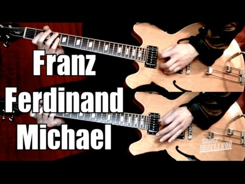 Michael - Franz Ferdinand  ( Guitar Tab Tutorial & Cover )