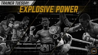 Trainer Tuesdays: Explosive Power with Daniel Jacob