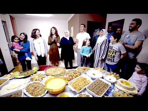 """We discovered the Portuguese love food"" - A Syrian family of cooks"