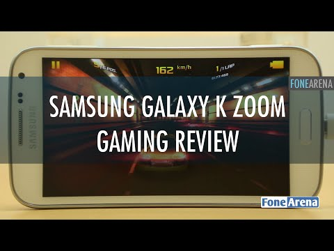 Samsung Galaxy K Zoom Gaming Review