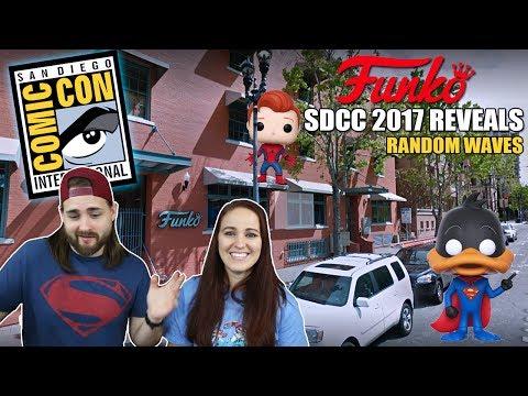 SDCC 2017 Funko Exclusives - Random Waves & D23