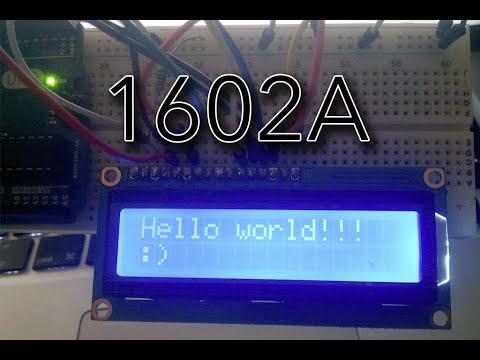 Arduino: Display LCD 1602A | TechKrowd
