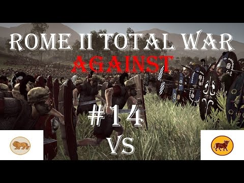 Let's play AGAINST Rome 2 Total War Emperor Edition #14 – Gegenangriff – (German|HD)