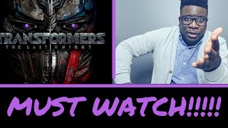 TRANSFORMERS 5: THE LAST KNIGHT TRAILER #3 - REACTION/REVIEW (2017)