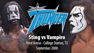 WCW Thunder - Sting vs. Vampiro - Reed Arena September 2000