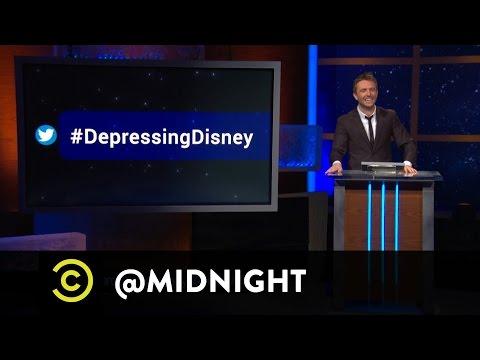#HashtagWars - #DepressingDisney - @midnight with Chris Hardwick