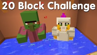 Minecraft PS4 - 20 Block Challenge - The Haggler (28)