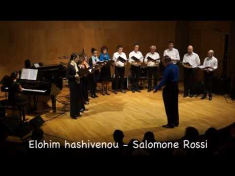 Jewish music from the 17th to 20th Centuries, Kehilat Gesher Choir, Paris