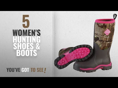 Top 10 Women'S Hunting Shoes & Boots [2018]: Muck Boot Womens Woody Pk Hunting Shoes,