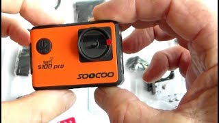 Unboxing, SOOCOO S100 Pro Action Camera+LOADS of test clips (short version)