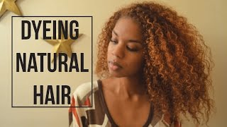 Dyeing Natural Hair