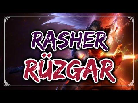 Rasher - Rüzgar (YASUO ŞARKISI) #11