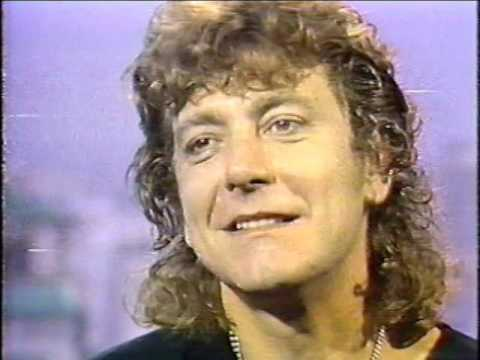 Robert Plant Interview May 1985