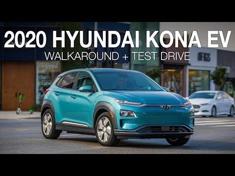 2020 Kona Electric Plug-In SUV Walkaround And Virtual Test Drive
