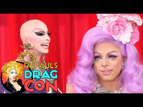 HEY QWEEN: LIVE! with The Princess and Aja @ RuPaul's DragCon 2017